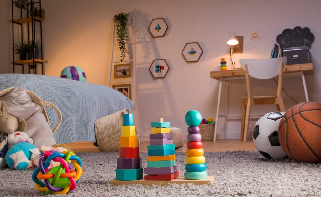 Design of Children's Room: Bright, Save and Versatile